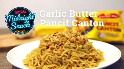 How To Make Garlic Butter Pancit Canton   Yummy PH