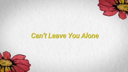 Maroon 5 - Can't Leave You Alone