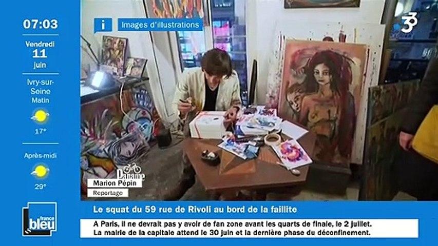 11/06/2021 - La matinale de France Bleu Paris