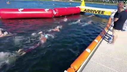 Sports : le championnat de France de natation en eau libre - 11 Juin 2021