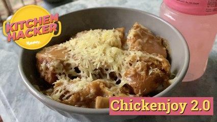 How To Make Jollibee Chickenjoy Baked Rice   Yummy PH
