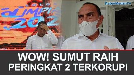 EDY RAHMAYADI: SUMUT PERINGKAT DUA PROVINSI TERKORUP DI INDONESIA