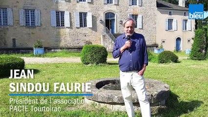 Au fil de l'eau - Jean Sindou Faurie, Président de l'Association PACTE Tourtoirac