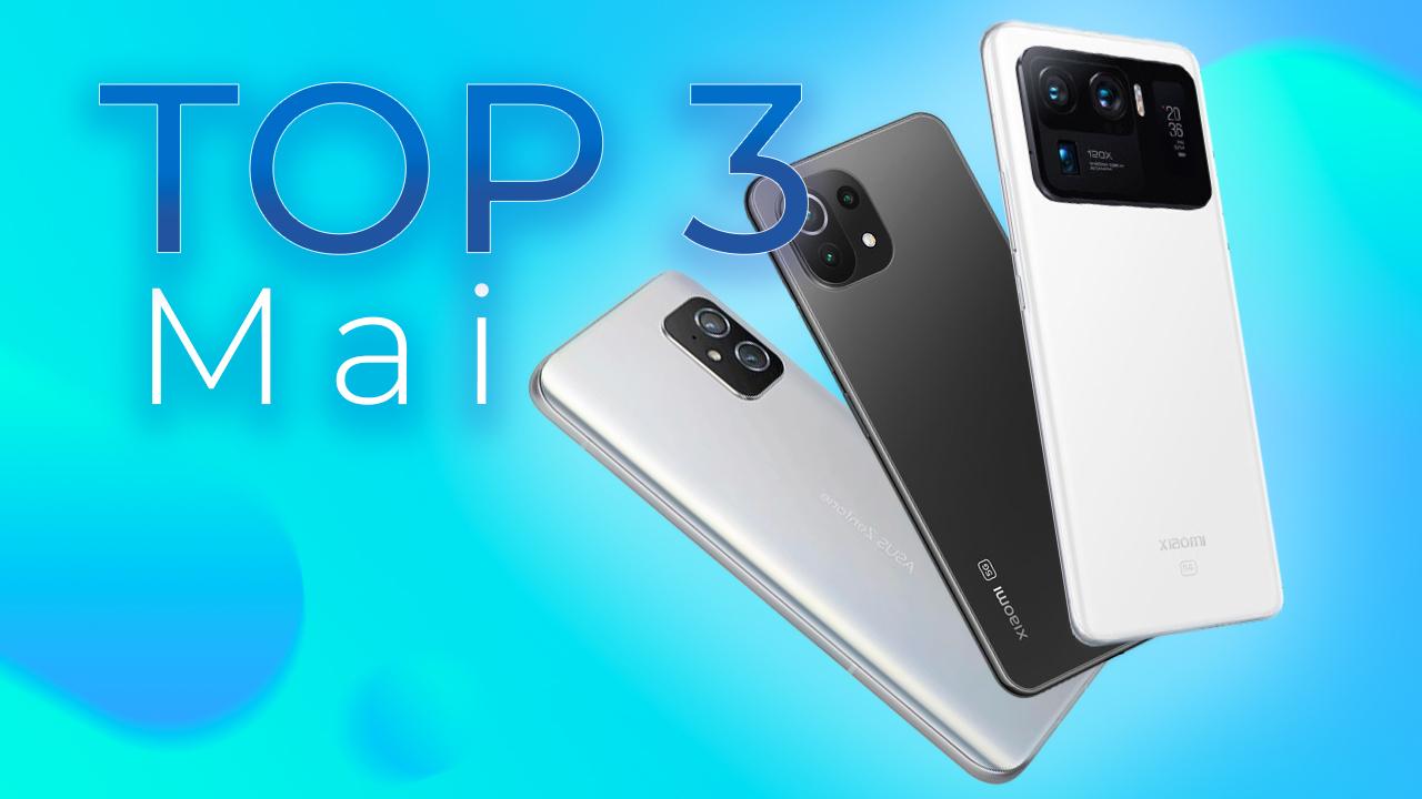 Les 3 Meilleurs Smartphones de Frandroid ! (Mai 2021)