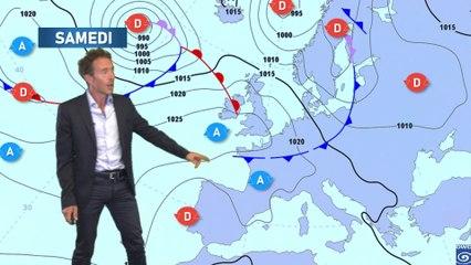 Illustration de l'actualité Bulletin météo pour le samedi 12 juin 2021