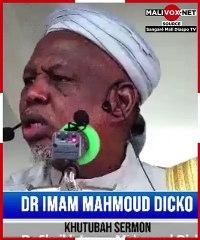 """Mahmoud Dicko à la France : """"Partez ! Si vous partez, Allah ne partira pas avec vous !"""" #Malivox #Mali"""
