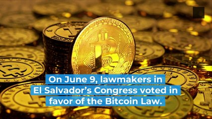 El Salvador Adopts Bitcoin as Legal Tender, the First Country in the World to Do So