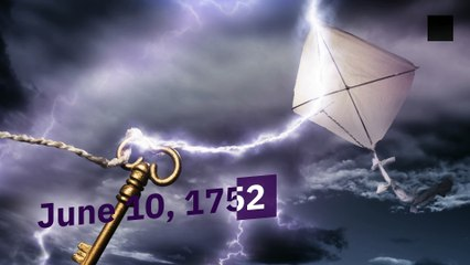 History: Benjamin Franklin Flies a Kite During Thunderstorm