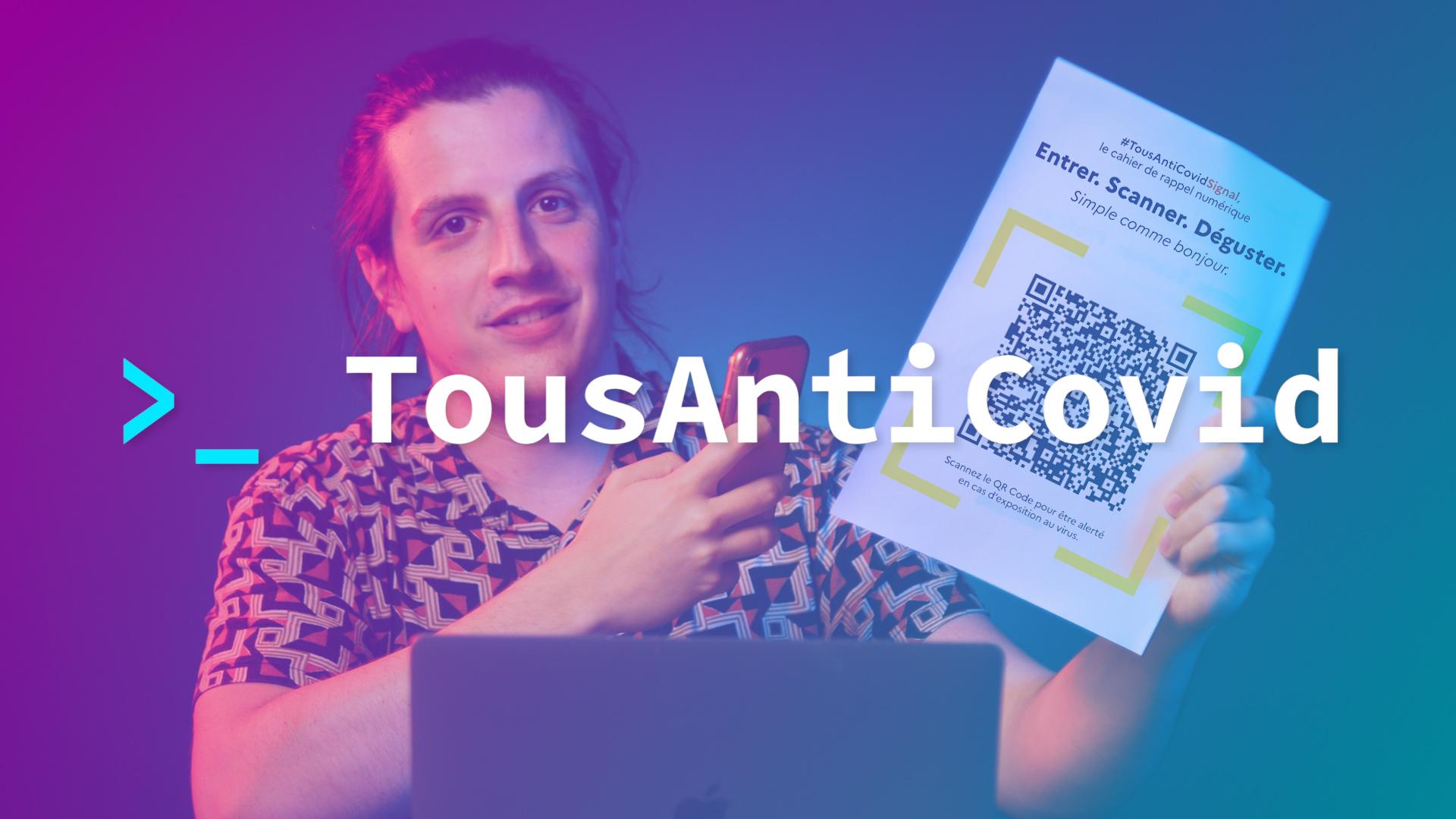 Coronavirus : tout comprendre aux QR codes TousAntiCovid