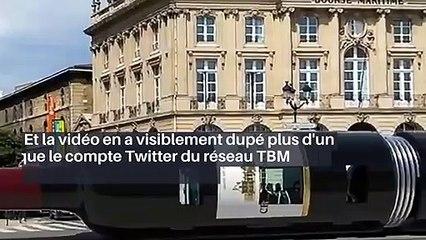 Bordeaux : une bouteille de vin géante comme nouvelle rame de tramway ?_IN