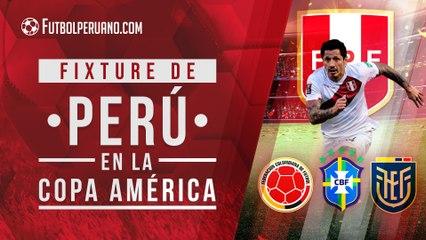 Fixture de la Copa América 2021 para Perú