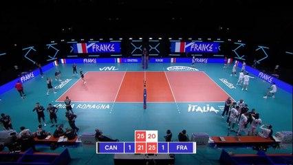 Le résumé de Canada - France - Volley - Ligues des Nations