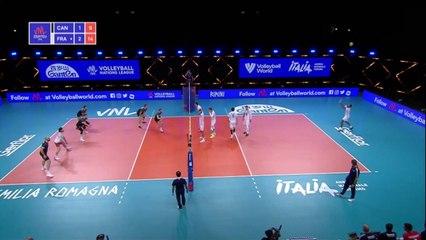 Le replay de Canada - France - Volley - Ligues des Nations