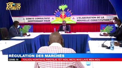 CCI-12ème  Série de débats sur l'Avant-Projet de la Nouvelle Constitution.Théme:Régulation...