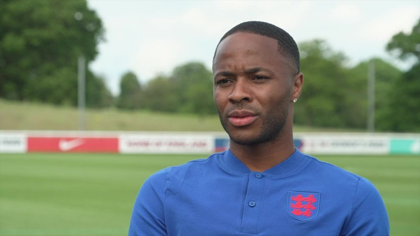 Raheem Sterling on being awarded an MBE