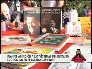Gobierno Nacional despliega Plan de Atención a las Víctimas del Bloqueo Económico en  Carabobo