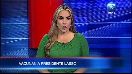 El presidente Lasso se vacunó y anunció la compra de más dosis