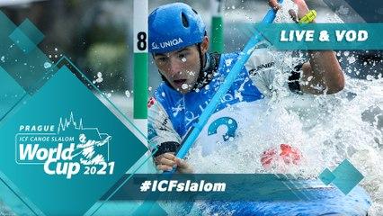 2021 ICF Canoe-Kayak Slalom World Cup Prague Czech Republic / Kayak Semis
