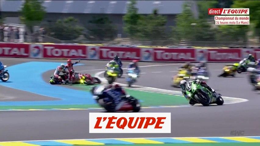 De l'action dès le départ - Moto - 24 Heures du Mans