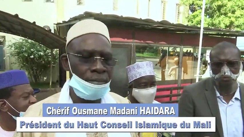 Le Colonel Assimi GOITA reçoit le Haut Conseil islamique du #Mali: réaction de Ousmane Madani HAIDARA #Malivox