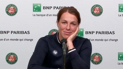 """Roland-Garros 2021 - Anastasia Pavlyuchenkova : """"C'est incroyable déjà car je ne croyais pas avant le tournoi que je me retrouverais en finale ici"""""""