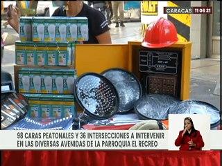A través del Plan Caracas Patriota Bella y Segura se rehabilitan avenidas de la parroquia El Recreo