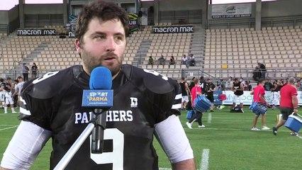 Panthers - Seamen 30-27, le interviste del dopo partita
