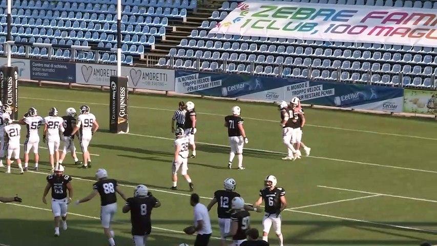 Panthers - Seamen 30-27, gli highlights