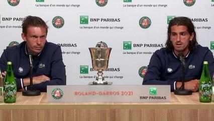 """Roland-Garros 2021 - Pierre-Hugues Herbert et Nicolas Mahut s'offrent leur 2e Roland, leur 5e Grand Chelem : """"Que du bonheur !"""""""