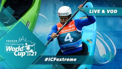 2021 ICF Canoe-Kayak Slalom World Cup Prague Czech Republic / Extreme