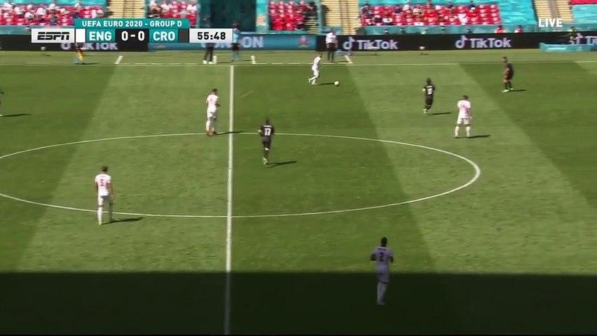 England vs Croatia - Sterling goal