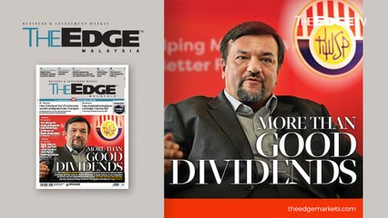 EDGE WEEKLY: More than good dividends