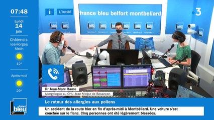 14/06/2021 - La matinale de France Bleu Belfort Montbéliard