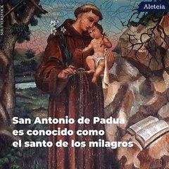 Oración a San Antonio que no falla nunca