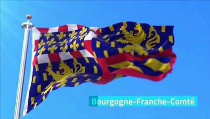 France : les régions et leur drapeau