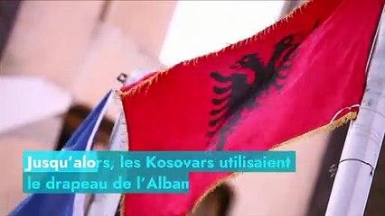 L'histoire du drapeau du Kosovo