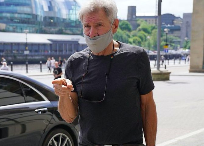 Harrison Ford 'asks fans to leave him alone' as he shoots Indiana Jones 5