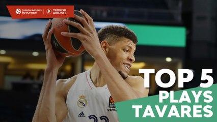 Top 5 Plays Walter Tavares, Real
