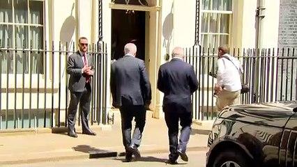 Sunak meets Australia's PM Scott Morrison at Downing Street