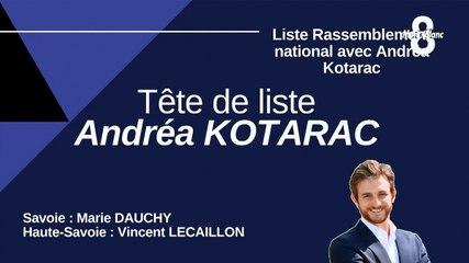 Le Rassemblement National avec Andréa KOTARAC