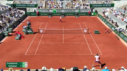 Djokovic claims 19th Grand Slam title after beating Tsitsipas in French Open
