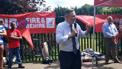 Barry Gardiner MP launches Parliamentary Bill against 'fire and rehire' in Banbury
