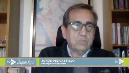 Del Castillo: Acompañamiento de Castillo no augura nada bueno para Perú | Dígalo Aquí | EVTV | 06/11/2021