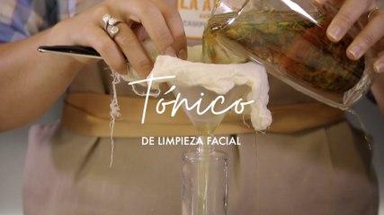 Tónico Facial aclarante con manzanilla - Plantas medicinales - Cómo preparar en casa