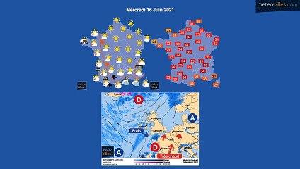 prévisions météo du lundi 14 juin 2021-bis