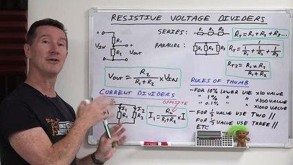 EEVblog 1399 - Electronics Fundamentals: Voltage Dividers