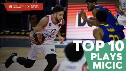 Top 10 Plays Vasilije Micic, Efes