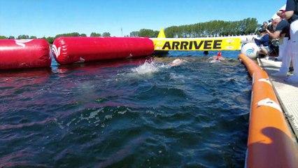Sports : retour sur le championnat de France de natation en eau libre - 15 Juin 2021