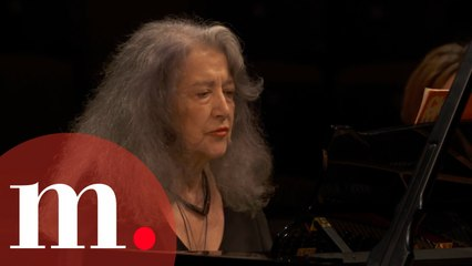 Martha Argerich and Cristina Marton-Argerich perform Shostakovich's Concertino for two pianos