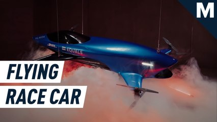 The world's first flying electric racing vehicle is here